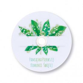 Płyta DVD komunijna konwalie TS (DVD-R 4,7GB 16x)