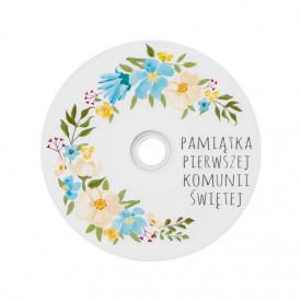 Płyta DVD komunijna wianek TS (DVD-R 4,7GB 16x)