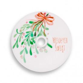 Płyta DVD TS świąteczna jemioła (DVD-R 4,7GB 16x)