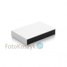 Pudełko na odbitki 15x23 Er Hand białe mat'+ miejsce na pendrive