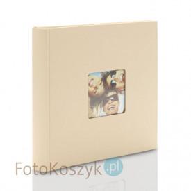 Album na zdjęcia wklejane Fun duży piaskowy (100 kremowych stron)