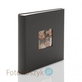 Album na zdjęcia wklejane Fun Duży Szary (100 kremowych stron)