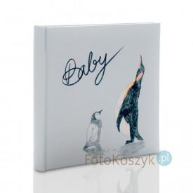 Album dziecięcy Walther Filou pingwinki (tradycyjny 50 białych stron)