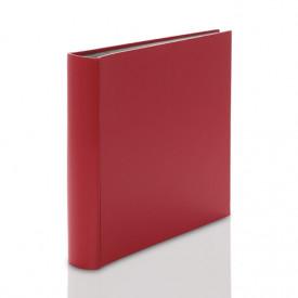 Album wklejany z czarną kartą Fun duży czerwony (100 stron)
