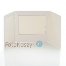 Mini-Album Biały - zestaw: 2 zdjęcia 15x21 + zakładka na CD