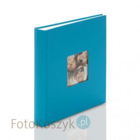 Album na zdjęcia wklejane Fun Duży niebieski (100 kremowych stron)