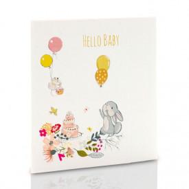 Mini-Album TS Hello Baby zestaw: 2 zdjęcia 15x21 + zakładka na CD