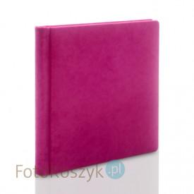 Album Introligatorski ER Hand velvet róż C (tradycyjny, 40 kremowych stron)