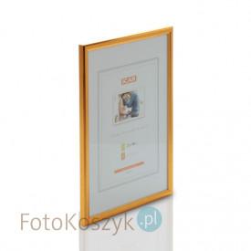 Ramka drewniana złota (na zdjęcie 21x30 cm)