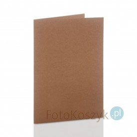 Mini-album kraft TS na dwa zdjęcia 15x23