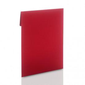 Czerwona koperta na zdjęcia 15x21 lub 15x23