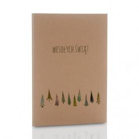 Album TS Leporello 13x18 Świąteczny Las (5 kolorowych kart)