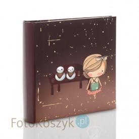 Album Gedeon Lena brązowa kwadrat (200 zdjęć 10x15)