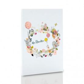 Album TS Leporello 10x15 dla Dziadka wianek (5 białych kart)
