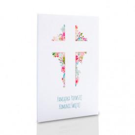 Album TS leporello 13x18 komunijny krzyż (5 białych kart)