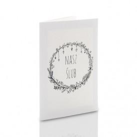 Mini-Album TS Nasz Ślub B&W na trzy zdjęcia 15x21