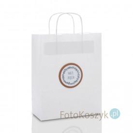 Biała torebka Nasze Zdjęcia (3 rozmiary do wyboru)