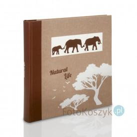 Album Zep Natural Life słonie XL (tradycyjny 100 brązowych stron)