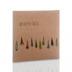 Obwoluta TS świąteczny las (na płytę CD/DVD)