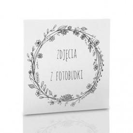 Obwoluta biała TS Zdjęcia z fotobudki (na płytę CD/DVD)