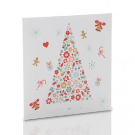 Obwoluta świąteczna TS choinka (na płytę CD/DVD)