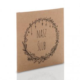 Obwoluta Kraft TS Nasz Ślub (na płytę CD/DVD)