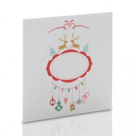 Obwoluta świąteczna TS renifery (na płytę CD/DVD)