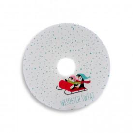 Płyta DVD TS pingwinki (DVD-R 4,7GB 16x)