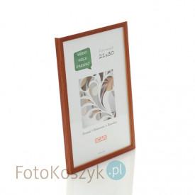 Ramka drewniana Pinia miodowa (na zdjęcie 21x30 cm)
