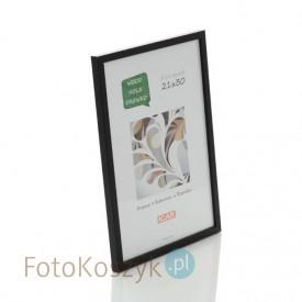 Ramka drewniana Pinia czarna (na zdjęcie 21x30 cm)