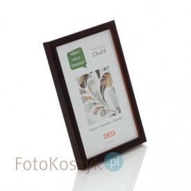 Ramka drewniana Pinia czekolada (na zdjęcie 13x18 cm)