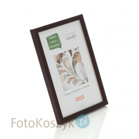Ramka drewniana Pinia czekolada (na zdjęcie 15x21 cm)