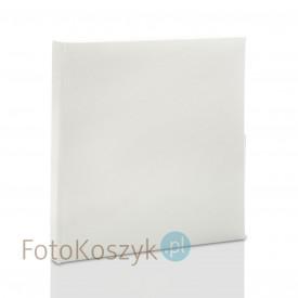 Mały album wklejany Plain biały (tradycyjny 20 kremowych stron)
