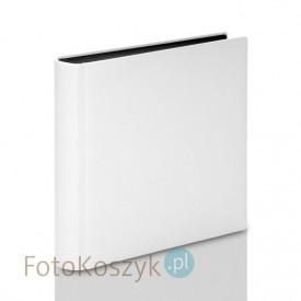 Album introligatorski ER Hand biały mat' XXL (tradycyjny, 140 czarnych stron)
