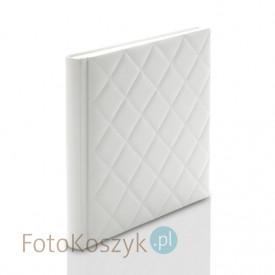 Album introligatorski ER Hand pik biały MAT XXL (tradycyjny, 60 kremowych stron)