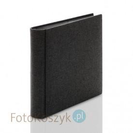 Album introligatorski ER Hand C grube płótno XXL (tradycyjny, 120 czarnych stron)