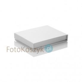 Białe, uniwersalne pudełko na pendrive (magnes)