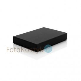 Czarne Płócienne Pudełko SF Na Zdjęcia 13x18 (do 100 zdjęć)