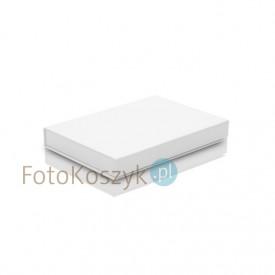 Białe pudełko na zdjęcia z magnesem 15x23 (do 100 zdjęć)