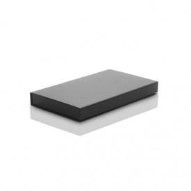 Czarne pudełko na zdjęcia 15x23 i pendrive (do 100 zdjęć)