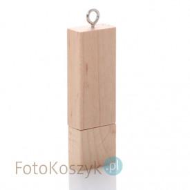 Pendrive MG-USB 2.0 jasne drewno (8GB)