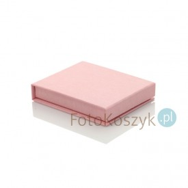 Uniwersalne Pudełko na Pendrive linum pastel róż (magnes)
