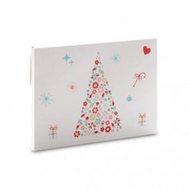 Grubsza teczka świąteczna choinka na zdjęcia 15x21