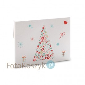 Świąteczna teczka na zdjęcia choinka (na zdjęcia 15x23)
