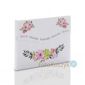 Grubsza teczka Kwiaty na zdjęcia 15x21