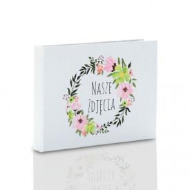 Pudełko na pendrive karta kredytowa TS Nasze Zdjęcia kwiaty