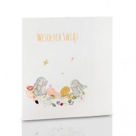Mini-Album TS Zajączki Wielkanocne zestaw: 2 zdjęcia 15x21 + zakładka CD