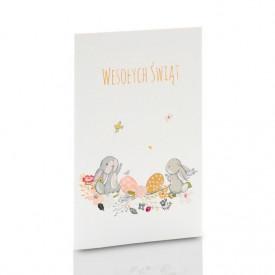 Mini-Album TS Zajączki Wielkanocne na dwa zdjęcia 15x21