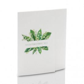 Mini-Album Komunijny TS konwalie- zestaw: 4 zdjęcia 15x21
