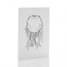 Album TS Leporello 15x23 Łapacze Snów b&w (5 białych kart)